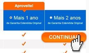 Na tela seguinte selecione a garantia de sua preferência e clique em Continuar.