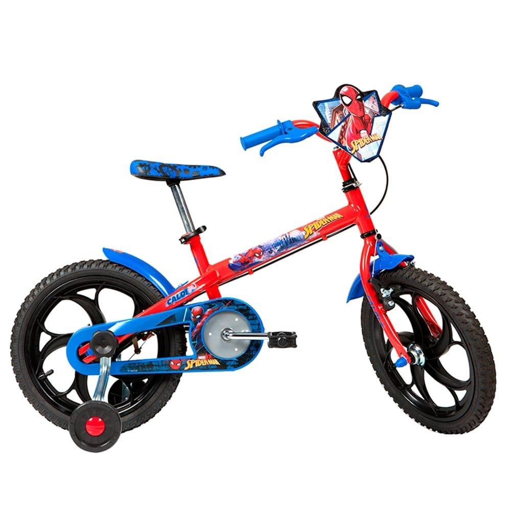 2fafa6f52 Bicicleta Infantil Caloi Spider Man Aro 16