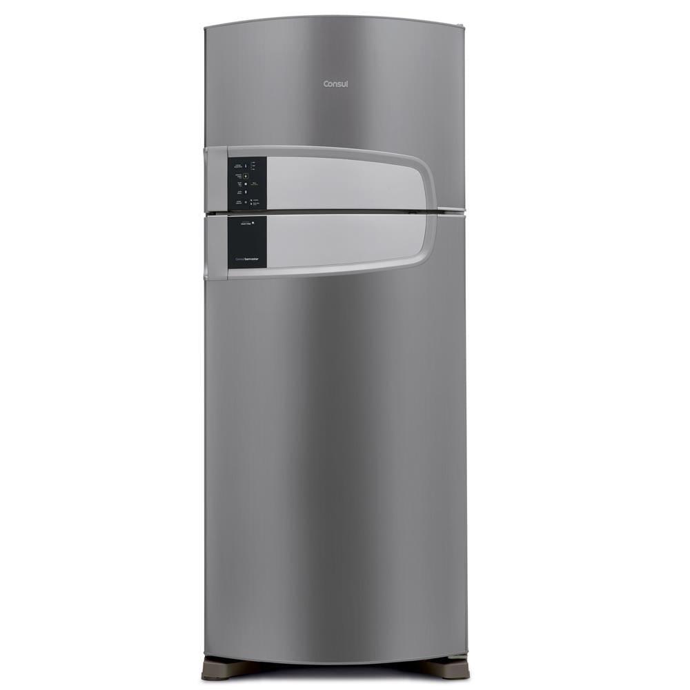 ffe04c478298 Geladeira Consul Frost Free Duplex 405 litros cor Inox com Filtro Bem Estar
