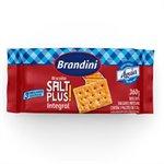 Biscoito Salt Cracker Integral 360g - 20 unidades - Águia