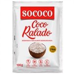Coco Ralado Puro 100g - 24 unidades - Sococo