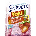 Pó p / Sorvete Sabor Morango 150g - 12 unidades - Yoki
