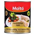 Palmito Açaí Gold Inteiro Lata 500g - Maitá