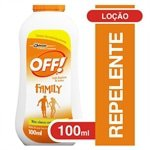Repelente De Insetos Off Locao Aloe Vera 100ml