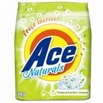 Sabão em Pó Natural Erva Doce 1kg - 18 unidades - Ace