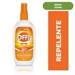 Repelente de Insetos em Spray 200ml - Off!