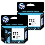 Bundle Cartucho HP 122 Preto Ref: CH561HB - 1000 / 2000 / 2050 / 3050