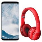 Smartphone Samsung Galaxy S8+ Tela 6.2 4G 12MP 64GB + Fone Ouvido Level On Wireless NFC