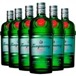 Kit Gin Tanqueray London Dry 750 ml - 6 Unidades