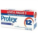 Sabonete Antibacteriano Complete 12 90g - 6 unidades - ( Promoção Leve 6 e Pague 5 ) - Protex