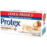 Sabonete Pro Hidrata 90g - 6 unidades ( Promoção Leve 6 e Pague 5 ) - Protex