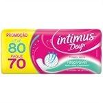 Absorvente Protetor Diário s / Abas Days Respirável - ( Promoção Leve 80 e Pague 70 unidades ) - Intimus