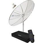 Antena Parabolica CR1500 1 50m Multiponto c / receptor - Cromus