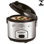 Panela de Arroz Elétrica 10 Xícaras Pratic Rice & Vegetables Cooker Premium PE-01  - Mondial