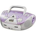 Rádio Boombox Lavanda PB126L Reproduz CD e MP3, Entrada USB e Auxiliar de Áudio Estéreo, Rádio AM / FM 4W RMS - Philco cod. 2208861