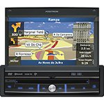 Som Automotivo SP6900NAV DVD Player Tela LCD de 7 ´ Touchscreen, TV Digital, GPS, Bluetooth, USB, Conexão SWC - Pósitron - Amvox cod. 2210309