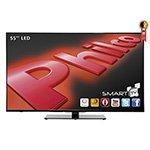 Smart TV 55 LED Full HD PH55E51DSGW WiFi 3 HDMI 2 USB Tecnologia Ginga - Philco