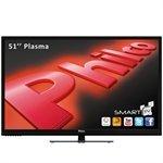 Smart TV 51 ´ Plasma PH51U20PSGW WiFi 3 HDMI 1 USB Tecnologia Ginga - Philco cod. 2212522