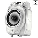 Caixa Amplificadora PK 500 USB Bluetooth SD Card Áudio Auxiliar Woofer 6 Tweeter 1.5 100W - NKS