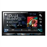 Som Automotivo AVH - X5780TV, DVD Player, Touch 7 ´ , 2 - DIN, TV Digital, Equalizador Gráfico, USB, Bluetooth - Pioneer cod. 2213002