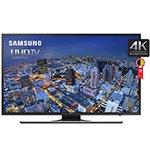 Smart TV 50 ´ LED 4K Ultra HD UN50JU6500 3 USB, 4 HDMI, DTV, 240Hz, Smart View 2.0, Upscaling - Samsung cod. 2213155