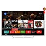Smart TV 55 3D LED Full HD KDL - 55W805C WiFi USB HDMI Android TV Grátis 1 Óculos 3D - Sony