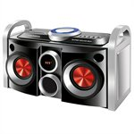 Mini System MS-08B Super Sound Box, Entradas USB e SD, Display de LED, 30W RMS - Mondial