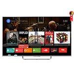 Smart TV 75 3D Full HD KDL - 75W855C Android TV WiFi 4 HDMI 2 USB Motion Flow 960Hz Grátis 1 Óculos 3D - Sony