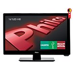 TV 16 LED HD PH16D10D USB HDMI DTV Som Surround Preta - Philco