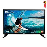 TV 28' LED HD PH28D27D 1 USB, 2 HDMI, Conversor Digital Integrado, Função Monitor - Philco