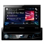 Som Automotivo AVH-X7880TV DVD Player, 1-DIN Tela Retrátil 7', USB, Bluetooth, Interface para Android, Waze - Pioneer