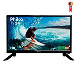 TV 24' LED PH24N91D 1 USB, 1 HDMI, Conversor Digital Integrado - Philco