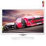 TV 23.6' LED HD 24MT49DF-WS USB, HDMI, Função Monitor, DTV, Gaming Mode, Time Machine Ready , Branco - LG