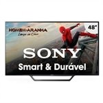 Smart TV LED 48' Sony KDL-48W655D Full HD com Wi-Fi, 2 USB, 2 HDMI, Motionflow 240 e X-Reality PRO