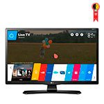 Smart TV LED 28 LG 28MT49S - PS HD 1 USB 2 HDMI Função Monitor DTV Screen Share e 62 Hz