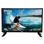 TV LED 20' Philco PH20M91D com Conversor Digital, 1 USB, 1 HDMI, Guide, Sleep Timer, Closed Caption e 60Hz
