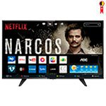 Smart TV LED 43' AOC LE43S5970 Full HD com 2 USB e 3 HDMI
