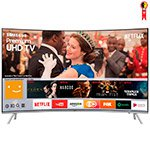 Smart TV LED 55' Samsung UN55MU7500 4K Ultra HD HDR com Wi-Fi, Tela Curva, 3 USB, 4 HDMI e 240Hz