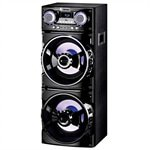 Caixa amplificadora Amvox ACA-1001 USB/SD/LED/Bluetooth 1000W RMS