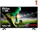 Smart TV 49' LED Philco PTV49E68DSWN Full HD com Wi-Fi 1 USB 3 HDMI