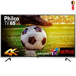 Smart TV 65' LED Philco PTV65F60DSWN 4K Ultra HD com Wi-Fi 2 USB 3 HDMI