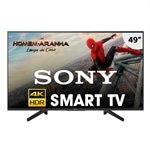 Smart TV LED 49' Sony 4K HDR KD-49X705F  com Wi-Fi, 3 USB, 3 HDMI, Motionflow XR 240, X-Reality e X-Protection PRO