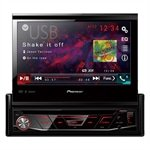 DVD Automotivo Pioneer AVH-3180BT 1-DIN Tela Retrátil 7', USB, Bluetooth