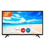 Smart TV LED 32' Panasonic TC-32FS500B HD com Wi-Fi, 2 USB, 2 HDMI e 60Hz