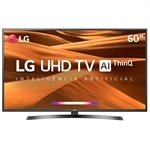 Smart TV 60' LED LG 60UM7470PSA 4K com Wi-fi, 2 USB, 3 HDMI e 60Hz