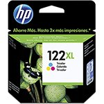 Cartucho HP 122XL Color Ref:CH564HB - 1000 / 2000 / 2050 / 3050