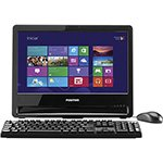 Computador All In One Union C1000 Intel Celeron 2GB HD 320GB Tela 18,5 ´ Windows 8.1 - Positivo cod. 2306793