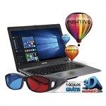 Notebook Stilo XR5550 Intel Pentium 4GB RAM HD 500GB Tela 14 Windows 10 Cinza - Positivo