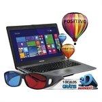 Notebook Stilo XR2995 Intel Celeron 2GB RAM HD 500GB Tela 14 Windows 8.1 ¿ Positivo