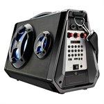 Caixa Amplificadora SP217 USB SD Bluetooth AUX / P2 MP3 Rádio FM Entrada p / Microfone 80W RMS - Multilaser